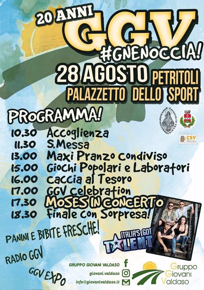Locandi 20 Anni GGV #gnenoccia